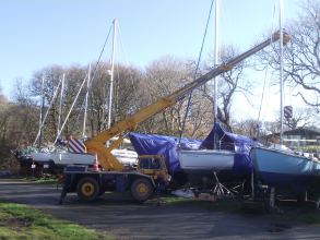 Lawrenny Quay boat repairs